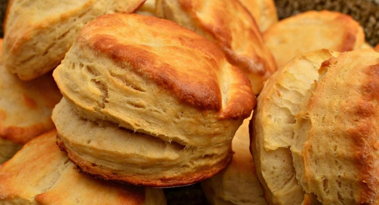 What Would Cause Flat Buttermilk Biscuits?