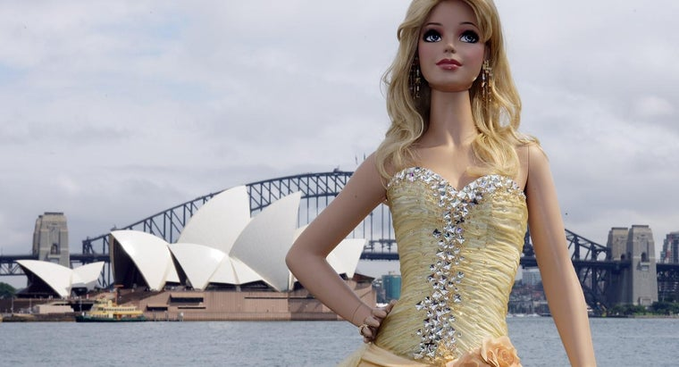 What Would Be the Measurements of a Life-Size Barbie?