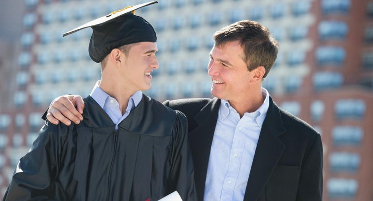 How Do You Write a Graduation Letter for Your Son?