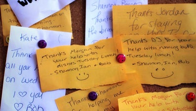 How Do You Write a Thank-You Letter for Attending an Event?