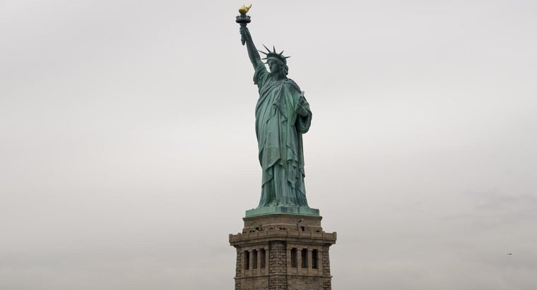 What's Written at the Bottom of the Statue of Liberty?