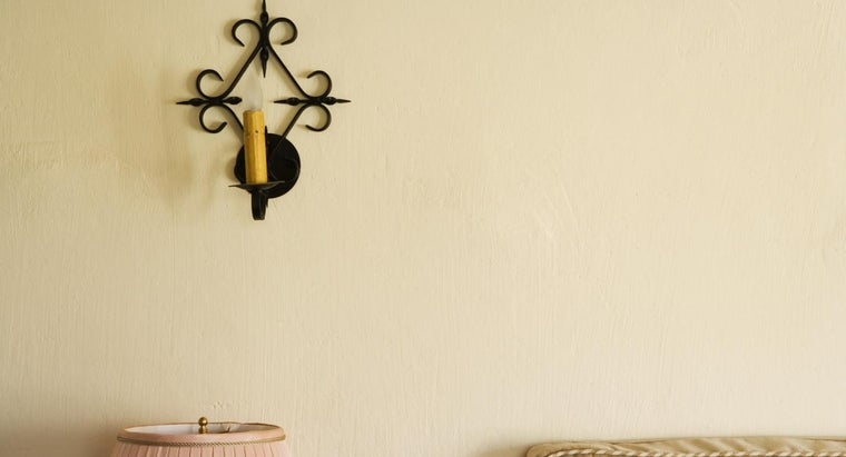 What Is a Wrought-Iron Wall Sconce?