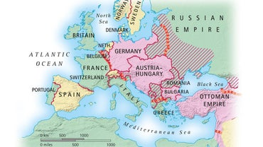 Where Was WWI Fought?
