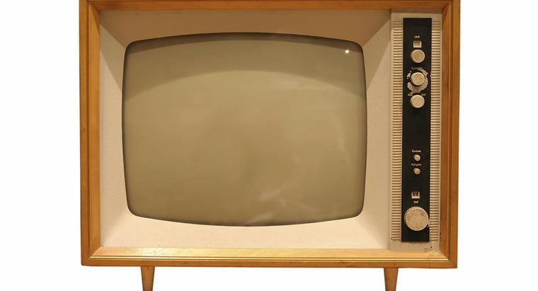 What Year Did the First Television Come Out?