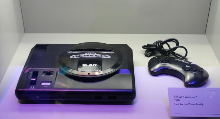 What Year Did Sega Genesis Come Out?