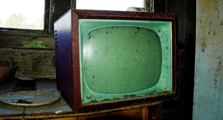 In What Year Was the Television Invented?