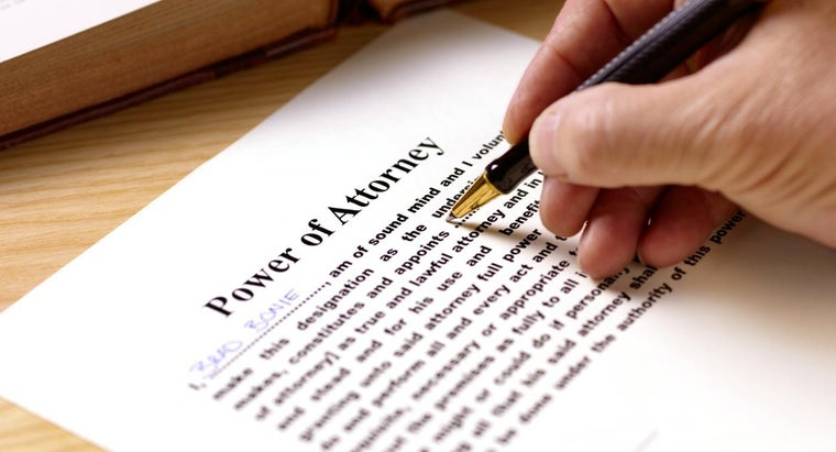 Are Do-It-Yourself Power of Attorney Forms Legal?