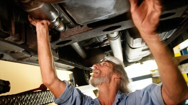 Where Is the Catalytic Converter on a Car Located?