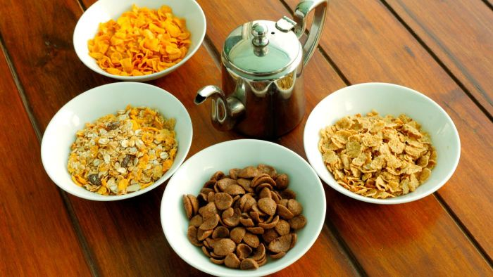 Which major brand cereals are lowest in carbohydrates?