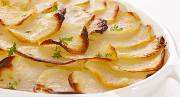 What Is a Good Recipe for Scalloped Potatoes?