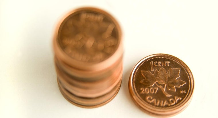 How Do You Find the Value of a Canadian Penny?