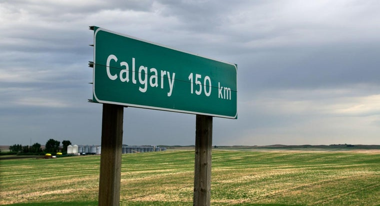 What Is the Format of a Home Address in Calgary?