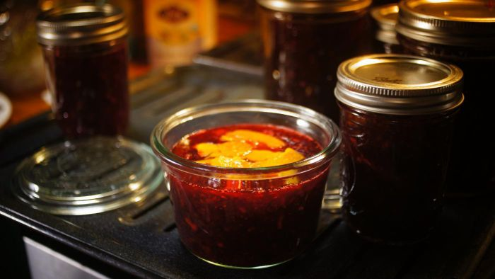What Is an Easy Cranberry Jam Recipe?