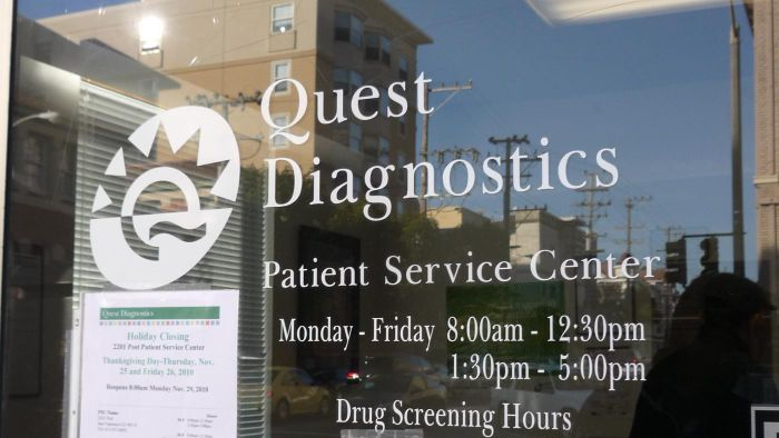 What Services Are Available at Quest Diagnostics Laboratories?