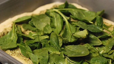 What Are Some Recipes That Use Baked Spinach?