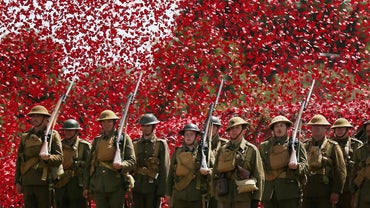 What Are Three Key Events That Should Be Noted in a World War I Timeline?