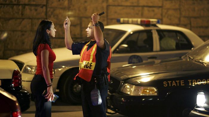 Which state has the highest drunk driving arrests?