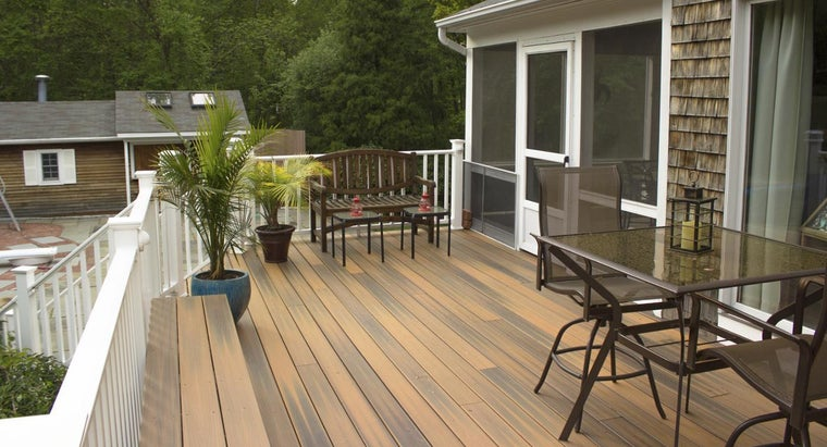 What Are Some Factors to Take Into Account When Replacing a Deck?