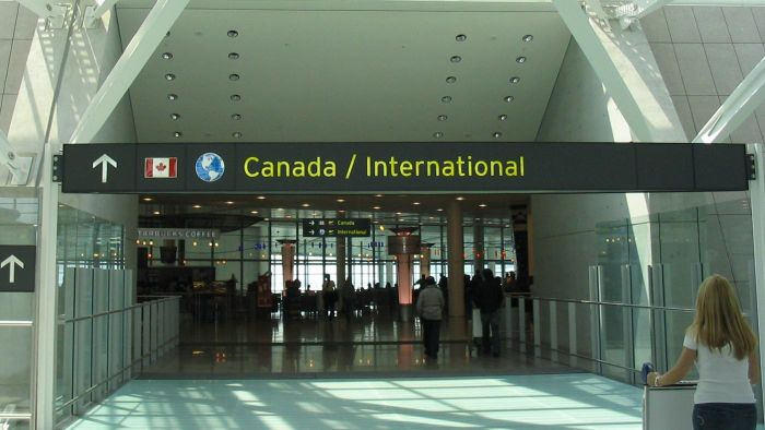 Is Pearson Airport the only major airport that services Toronto?