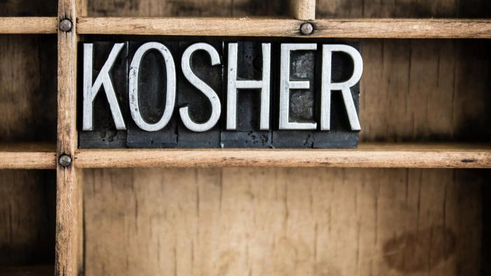 What Makes Something Kosher?