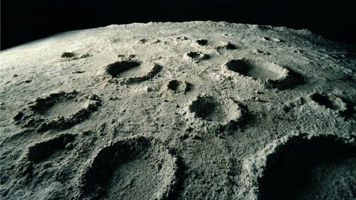 How do space craters get their names?