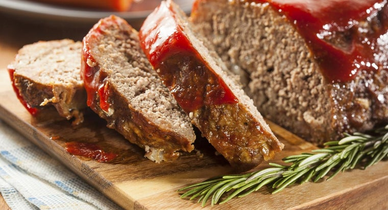 What Is a Good Meatloaf Recipe With Oatmeal?