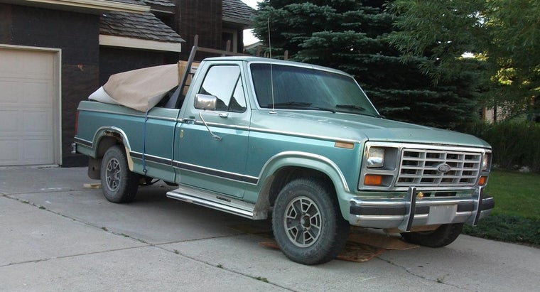 What Is the Fuel Tank Capacity of a Ford F150?