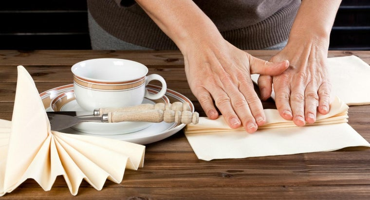 What Is an Easy and Creative Way to Fold Napkins?