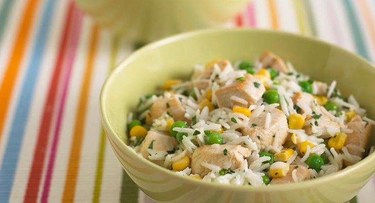 How Do You Prepare an Easy Chicken and Rice Dish?