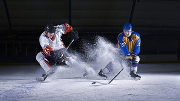 What Were the First Hockey Pucks Made Of?