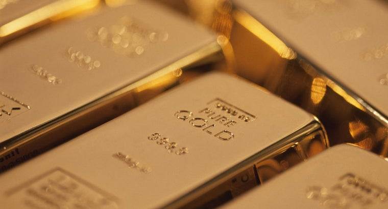 What Is the Market Price of 24-Karat Gold As of June 2015?