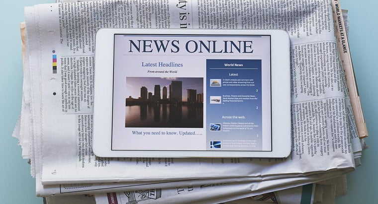 Where Can You Find a Newspaper Online?