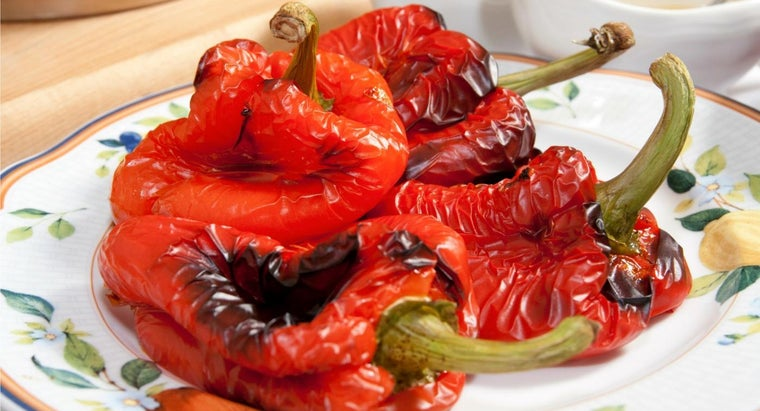 What Are Some Tips for Roasting Red Peppers?