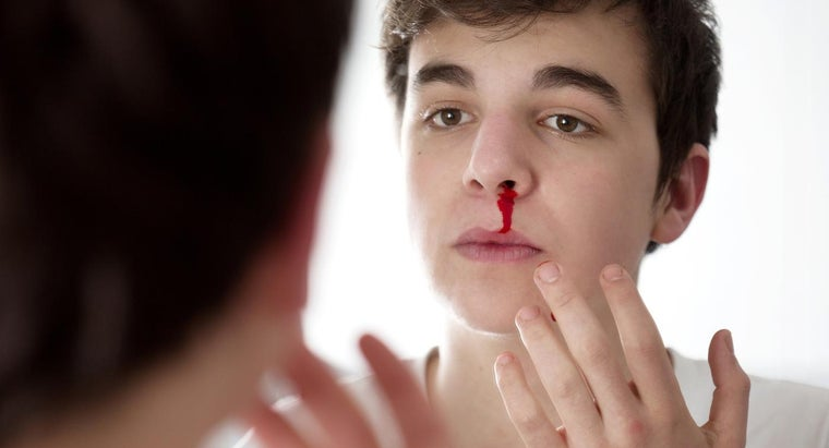 What Are Some Causes of a Bloody Nose?