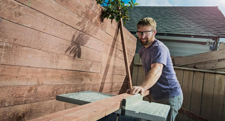 What Types of Lumber Can Be Used for Building a Fence?