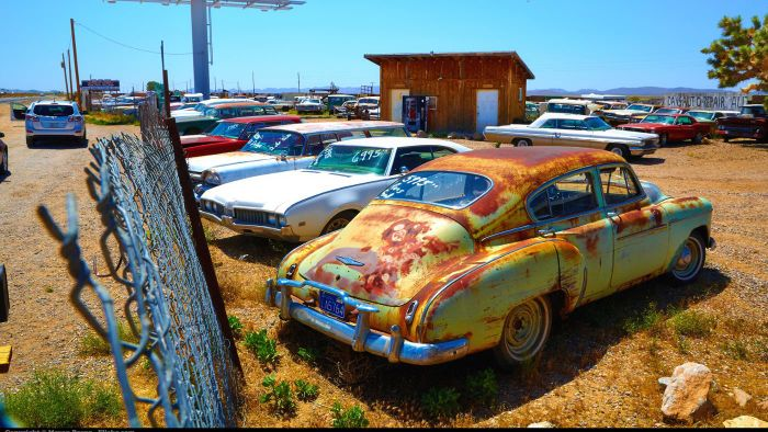 Where can you find wrecked cars for sale?