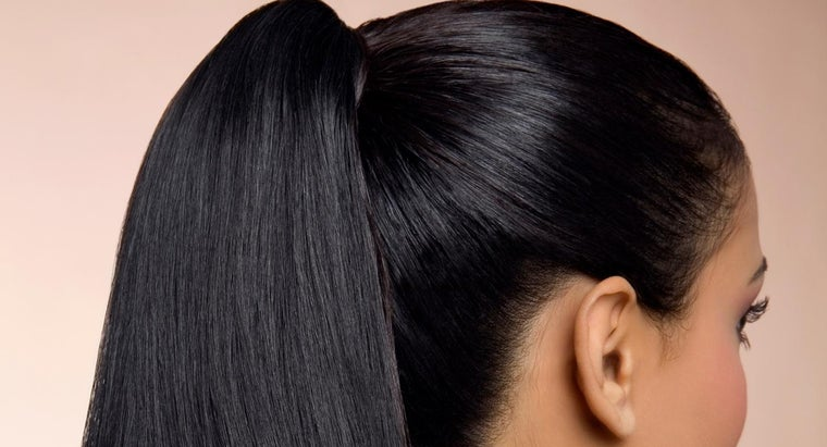 How Do You Make a Ponytail for Black Hair?