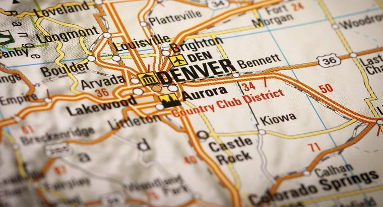 Can You Get a Free Full Map of Colorado?