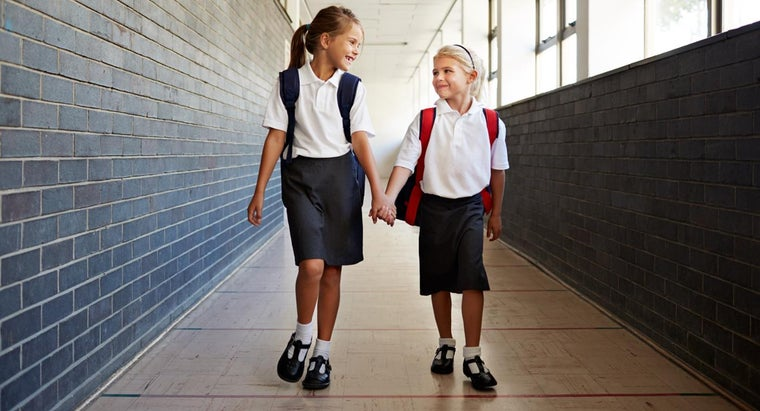What Are Some Average Heights and Weights for School-Aged Children?