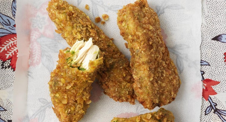 What Is an Easy Way to Make Breaded Chicken?