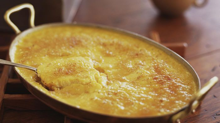 What Is the Recipe for Rachel Ray's Corn Pudding?