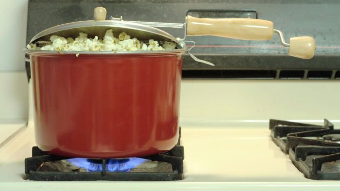 How do you cook popcorn?