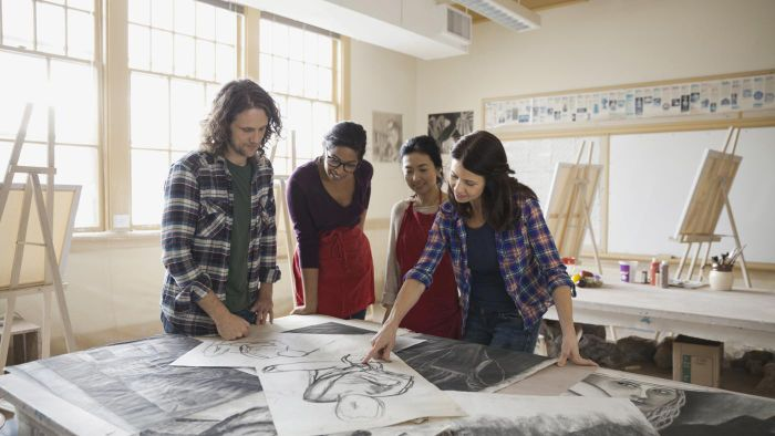 What Are Some Top-Rated Art Colleges in the Continental United States?