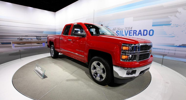 What Colors Are Available for the Chevy Silverado?