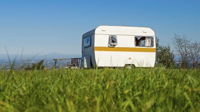 What types of used trailers are typically up for sale?