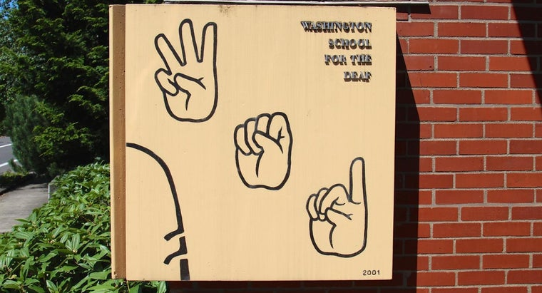Where Can You Learn American Sign Language?