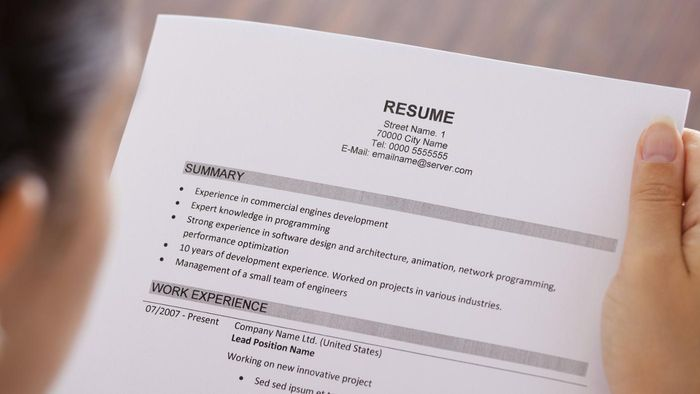 What Are the Different Types of Job Resume Formats?