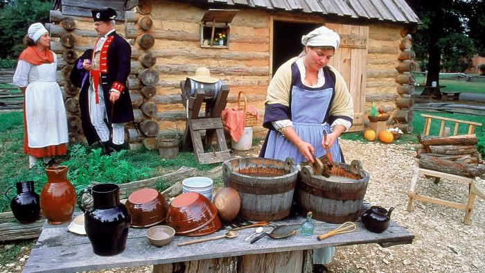 What Was a Typical Day Like in Colonial Life?