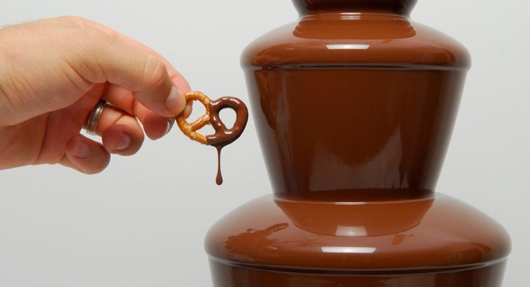 What Is a Good Recipe for Chocolate Fountains?