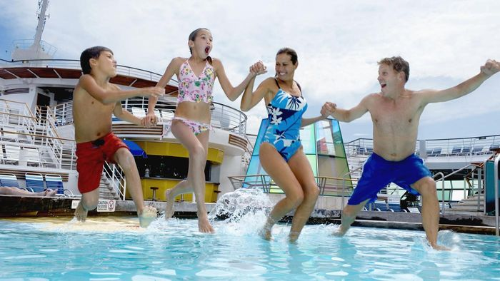 What cruise lines are good for families?